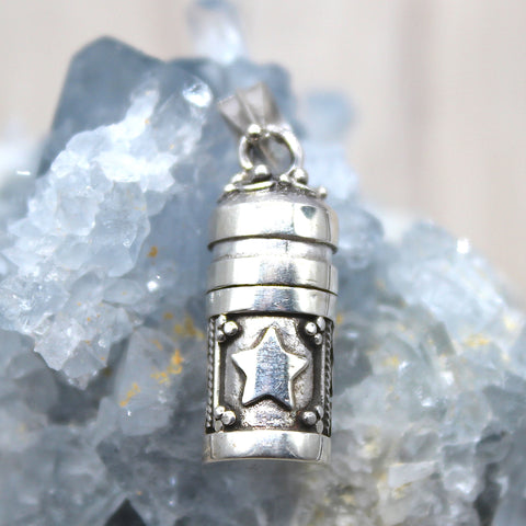 Sterling Silver Moon + Star Mini Dream box