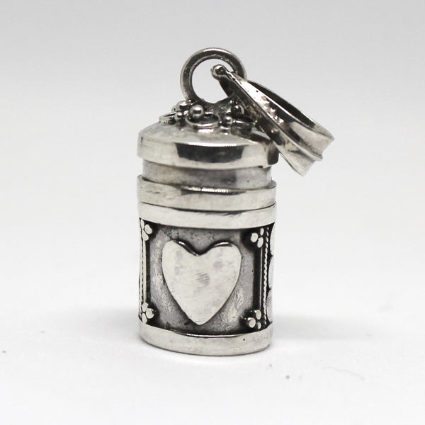 Sterling Silver Mini Heart Dream Box Pendant