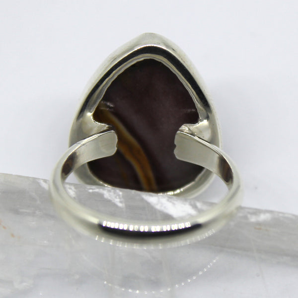 Handmade Sterling Silver Mookaite Ring