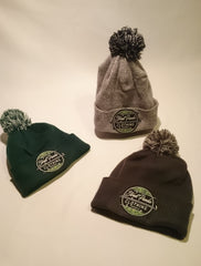 The new Logo Patch Bobble Beanies! 30% off!?
