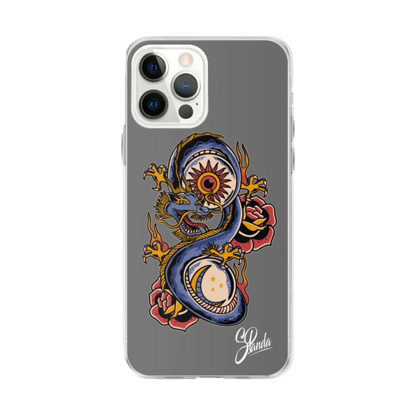 Sun & Moon Iphone Case ( Various Sizes )-iphone case-Street Panda Clothing