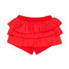 Red Ruffle Shorts - 3030BB92228