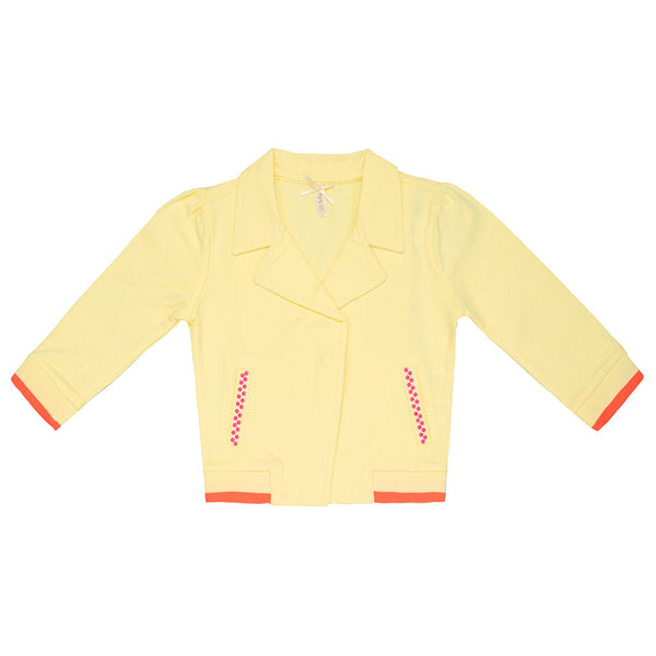 Yellow Tracksuit Top - 3030BB92405