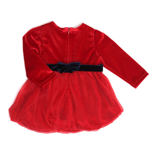 Red Velvet Dress-3232BBG2905