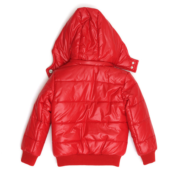 Red Puffy Coat-3232NBN3707
