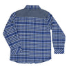 Blue Checked Shirt-3232ROR3611