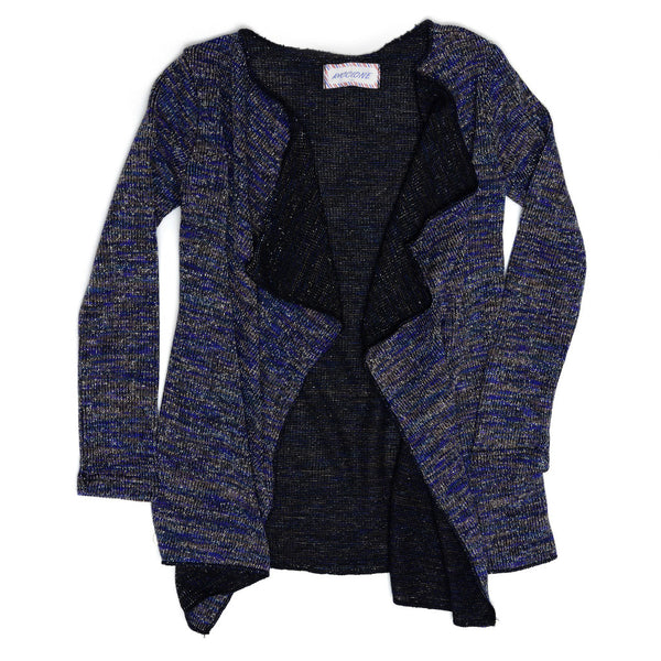 Shimmer Striped Cardigan-3232ROR4705