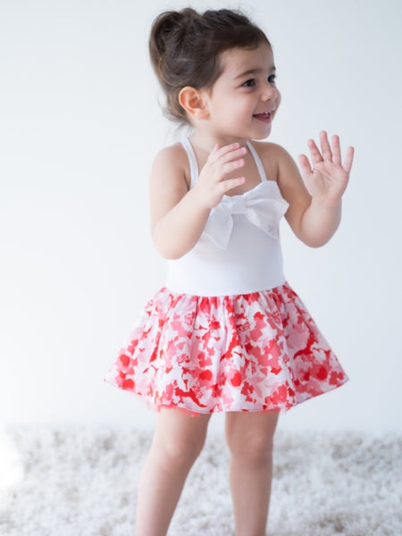 Baby Girl Dress with Bodysuit - 3434BBG2805