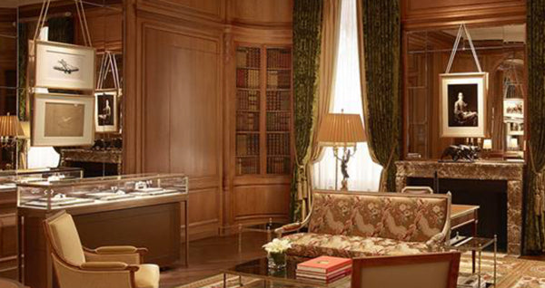 FAUX BOOK INTERIOR | CARTIER NEW YORK