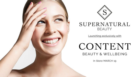 Supernatural Beauty launch exclusively into Content Beauty & Wellbeing