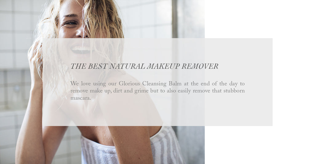 The best natural makeup remover
