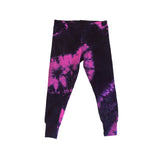 Tie Dye Leggings - Raspberry