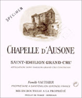 Chapelle d'Ausone 2015 - 750ml