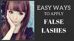 How to Apply Fake Eyelashes for Beginners: Easy!
