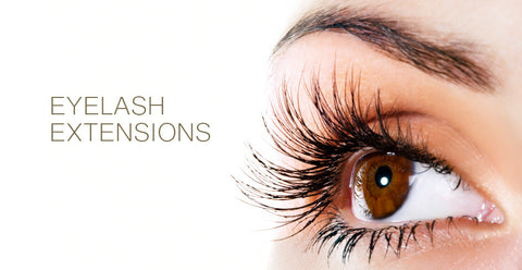 Eyelash Extensions Have Side Effects. Read more below.