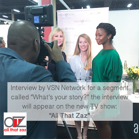 ATZ Interview with CoFounder of AB Skincare, Amanda Blakley and AB Skincare fan Vicki Gunvalson