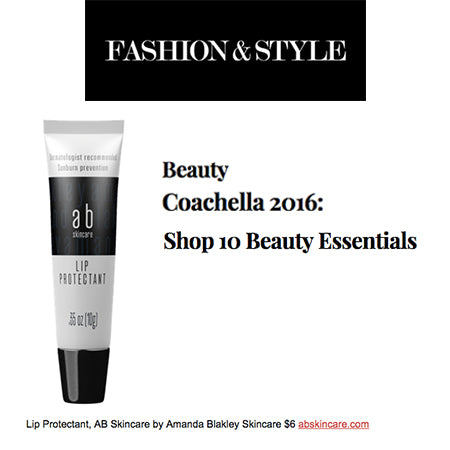 Fashion n style 10 beauty essentials at coachella ab skincare