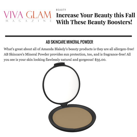 Viva Glam Fall Beauty Must Haves - AB Skincare