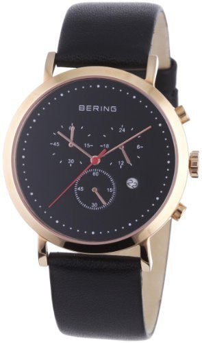 bering time 10540 462 men s classic collection watch with leather band