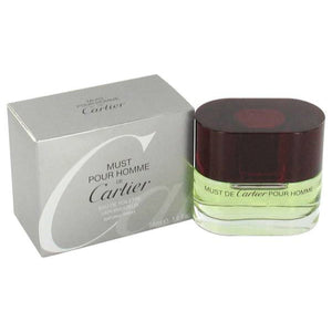 CARTIER MUST DE CARTIER POUR HOMME EDT 100ML FOR MEN - MyPerfumeShopNG
