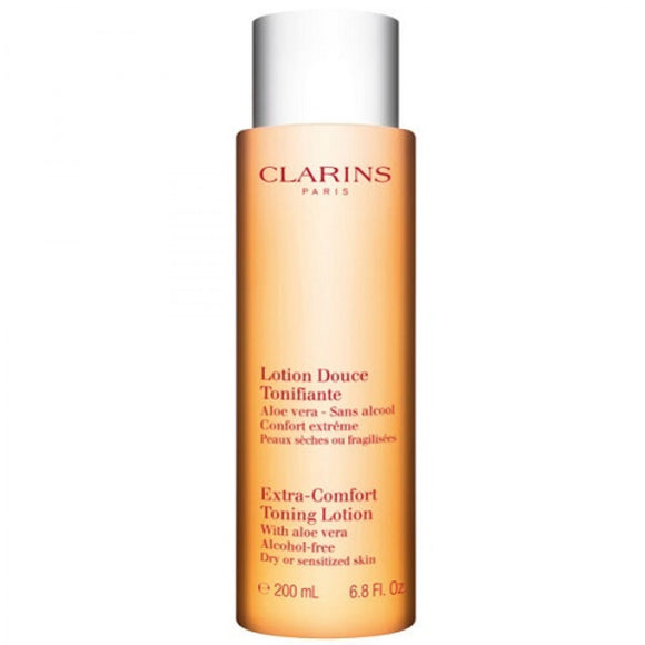 Clarins Extra Comfort Toning Lotion For Dry & Sensitised Skin 200ml - MyPerfumeShopNG