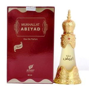 AFNAN MUKHALLAT ABIYAD 20ML CONCENTRATED OIL PERFUME - MyPerfumeShopNG