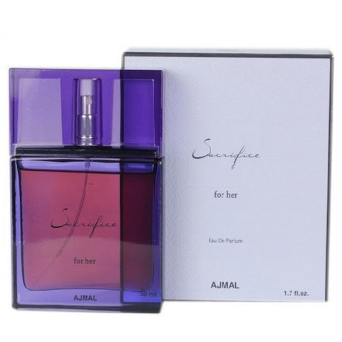 AJMAL SACRIFICE EDP 50ML FOR WOMEN - MyPerfumeShopNG