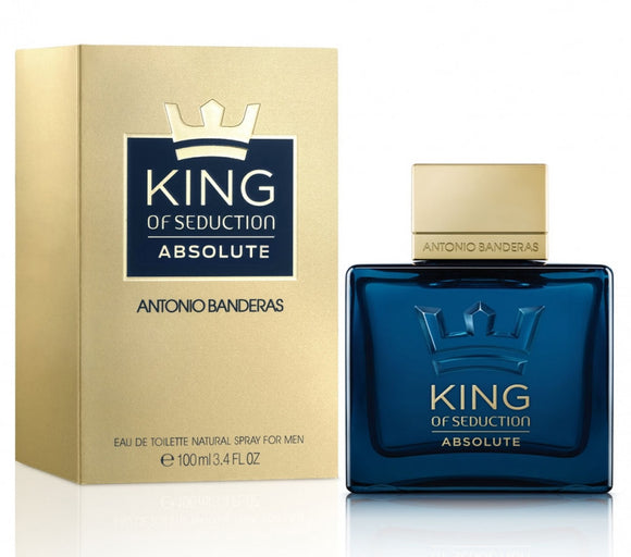 ANTONIO BANDERAS KING OF SEDUCTION ABSOLUTE EDT 100ML FOR MEN - MyPerfumeShopNG