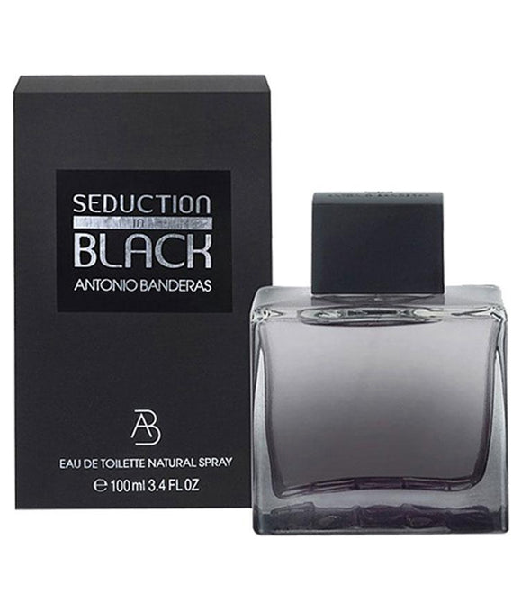 ANTONIO BANDERAS SEDUCTION BLACK EDT 100ML FOR MEN - MyPerfumeShopNG