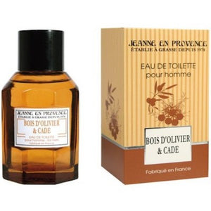 Jeanne En Provence Bois D'Olivier & Cade EDT 100ml For Men - MyPerfumeShopNG