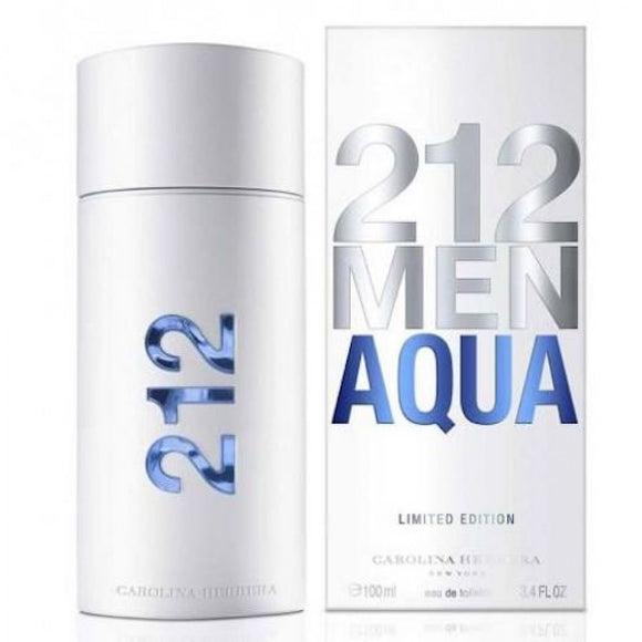 CAROLINA HERRERA 212 MEN ACQUA EDT 100ML FOR MEN - MyPerfumeShopNG