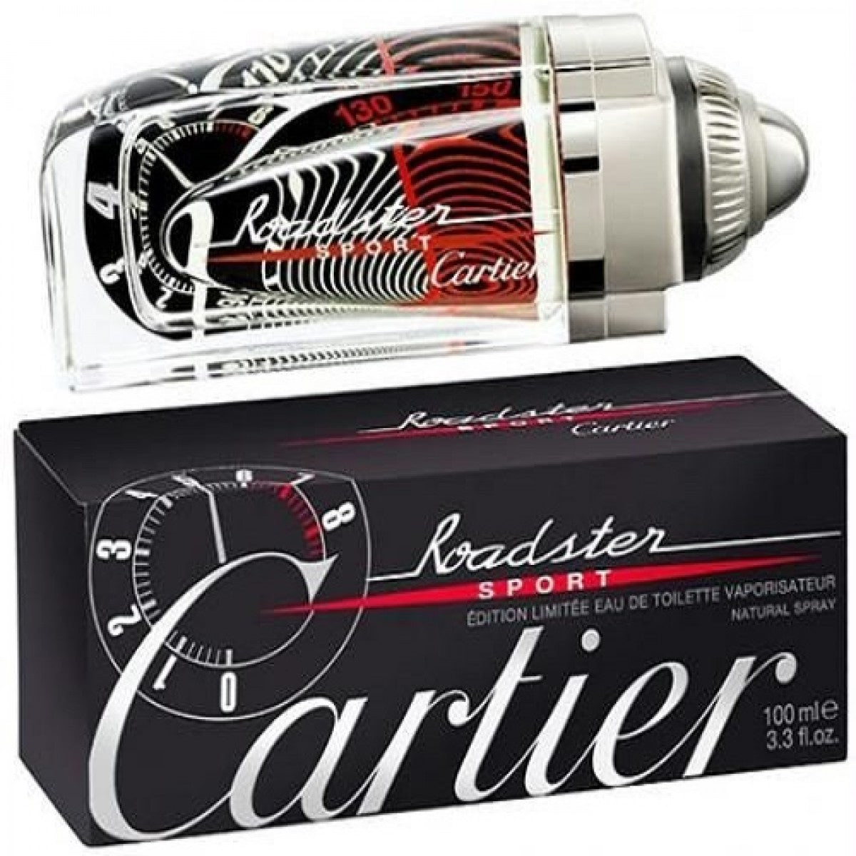 Speedometer Perfume Limited Sport Edition Roadster 100ml Cartier Edt SpqzMUV