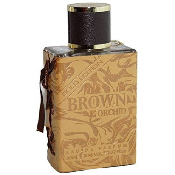 FRAGRANCE WORLD BROWN ORCHID GOLD EDITION EDP 80ML PERFUME FOR MEN - MyPerfumeShopNG