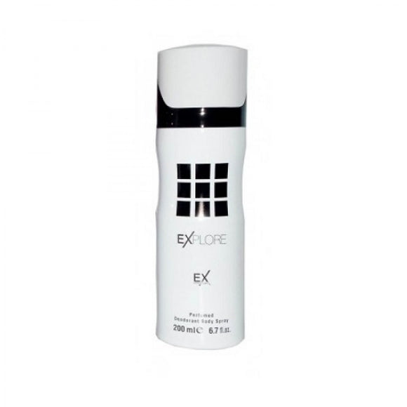 FRAGRANCE WORLD EXPLORE 200ML DEODORANT SPRAY FOR MEN - MyPerfumeShopNG