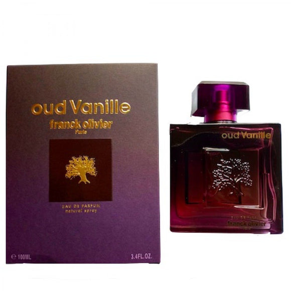 FRANCK OLIVIER OUD VANILLE EDP 100ML PERFUME FOR MEN - MyPerfumeShopNG