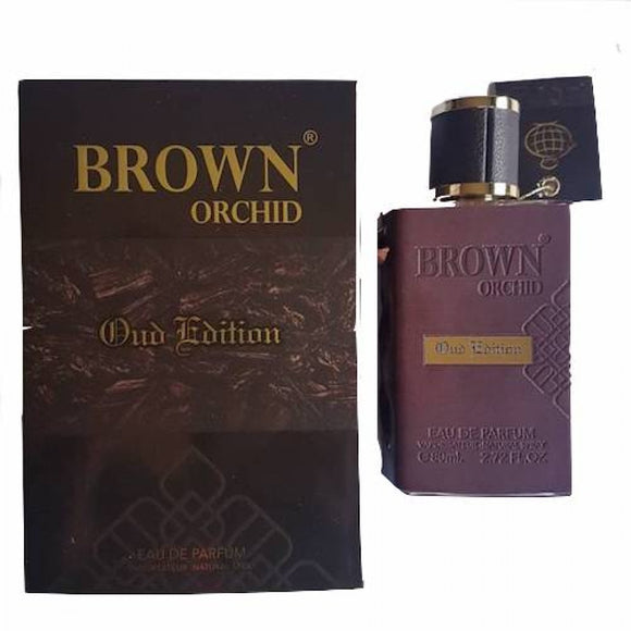 FRAGRANCE WORLD BROWN ORCHID OUD EDITION EDP 80ML PERFUME - MyPerfumeShopNG
