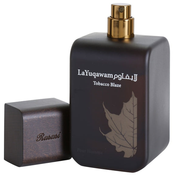 Rasasi La Yuqawam Tobacco Blaze EDP 75ml For Men - MyPerfumeShopNG