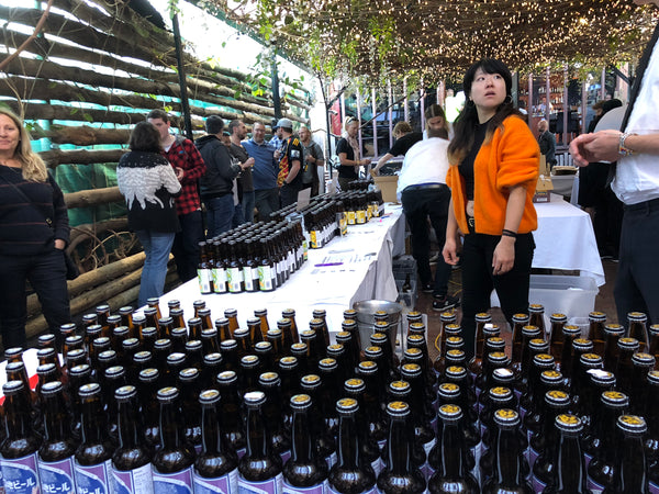 Japanese beer and whisky festival
