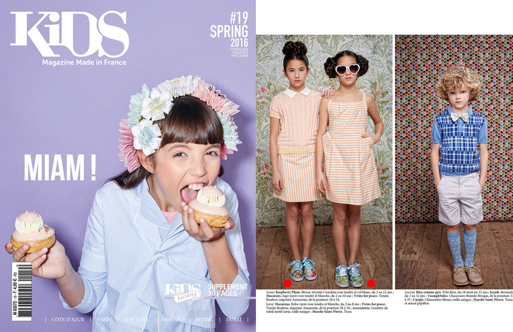 Kids Magazine Twins for Peace