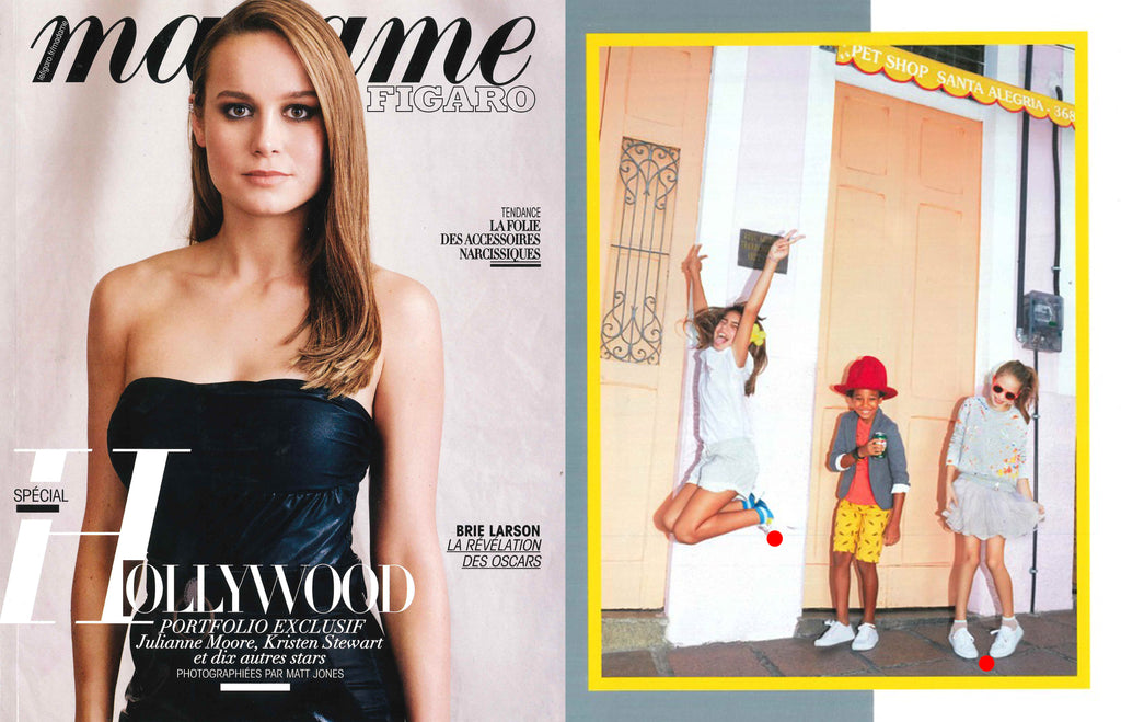 Madame Figaro Twins for Peace Kids