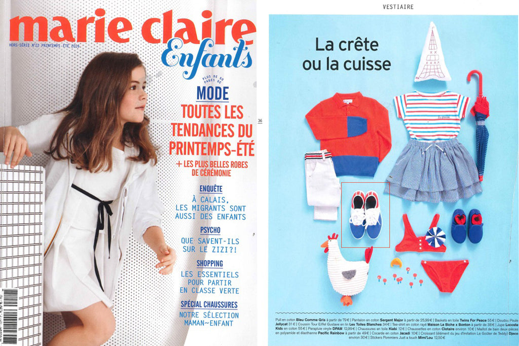 Marie Claire Enfants Twins for Peace