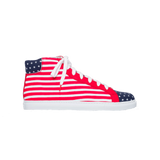 Alex High Top Canvas USA - CANVAS SNEAKERS