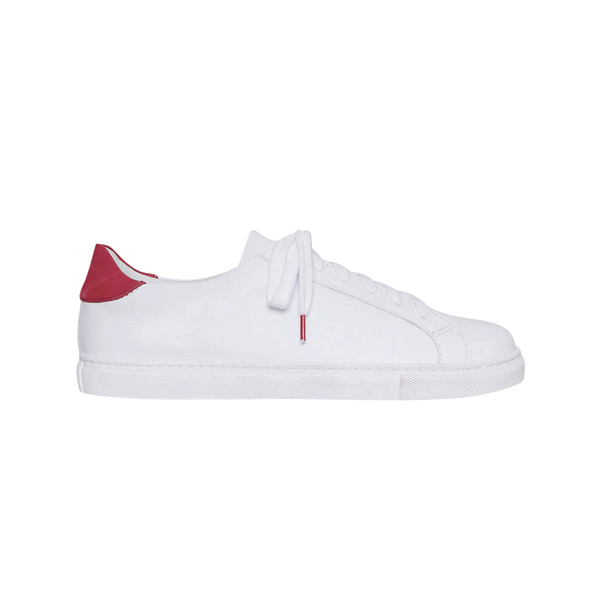 Alex Leather White Red