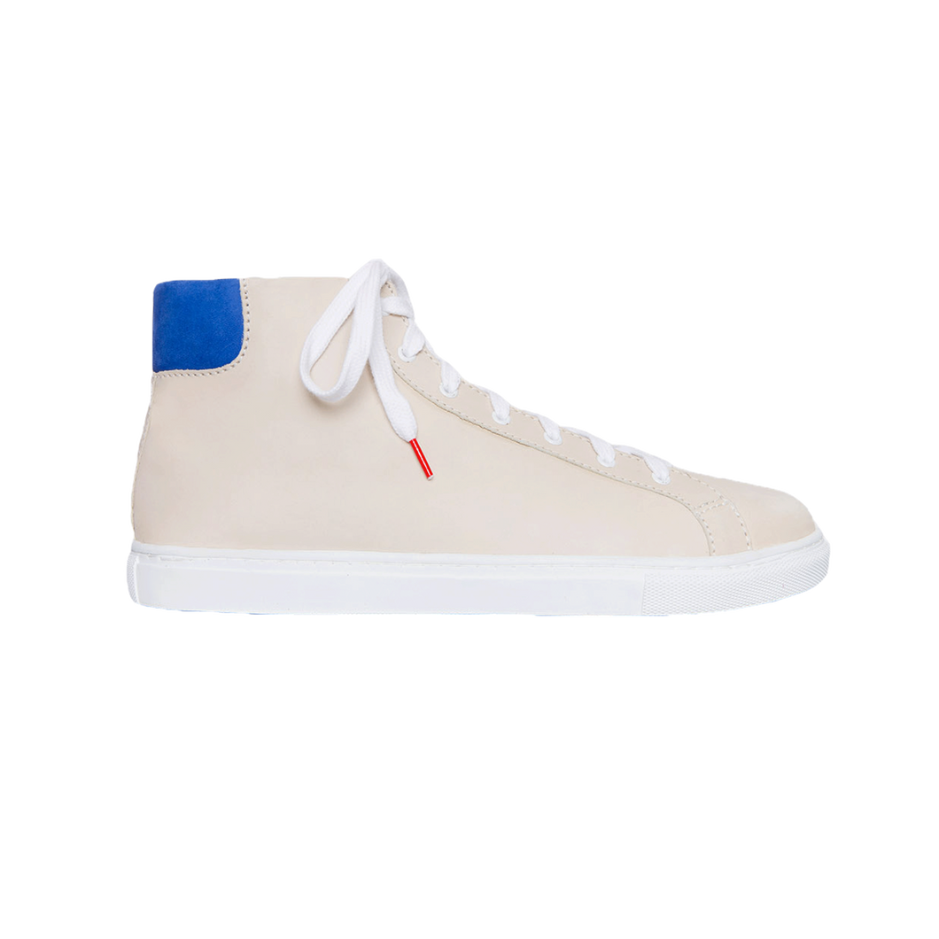 Alex High Top Nubuck Off White - NUBUCK SNEAKERS