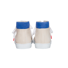 Load image into Gallery viewer, Alex High Top Nubuck Off White - NUBUCK SNEAKERS