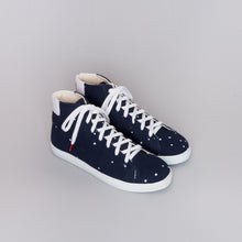 Load image into Gallery viewer, Alex High Top Canvas Night Sky - CANVAS SNEAKERS