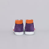Alex High Top Suede Violet Orange - SUEDE SNEAKERS