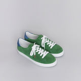 Alex Suede Green Blue - SUEDE SNEAKERS