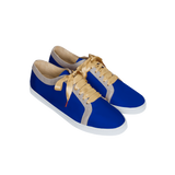 Boubou Silk Royal Blue - SILK SNEAKERS