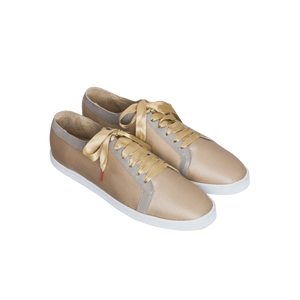 Boubou Silk Gold - SILK SNEAKERS